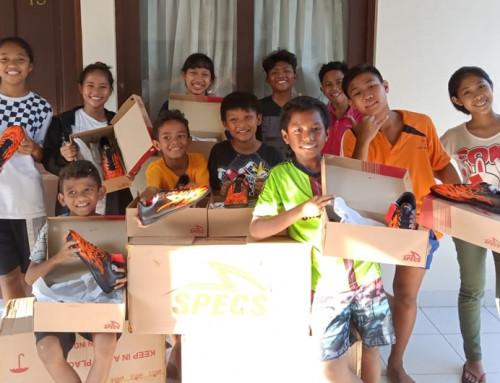 Vi är tacksamma över att kunna hjälpa föräldralösa på Bali