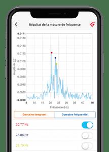 App för vibrationsmätning